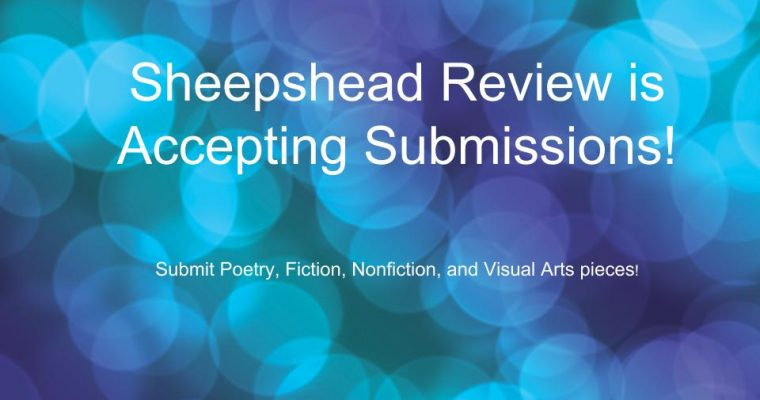 Sheepshead Review is Accepting Submissions!
