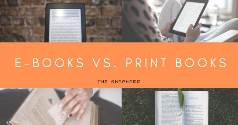 E-Books vs. Print Books