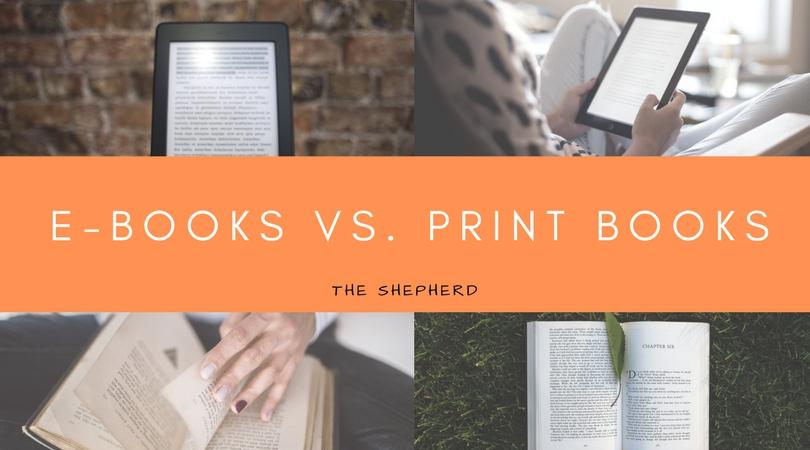 E-Books vs. Print Books
